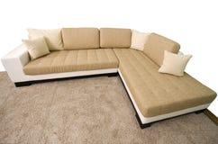 Comfortable sofa. Stock Photos