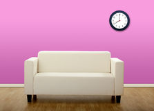 Comfortable sofa Stock Photos
