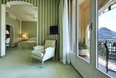 Comfortable suite, lounge. Interior luxury apartment, comfortable suite, lounge Royalty Free Stock Photo