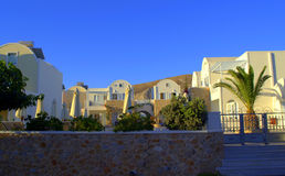 Comfortable villas on Santorini island,Greece Royalty Free Stock Photo