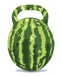 Comfortable water-melon Royalty Free Stock Image