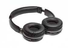 Comfortable wireless headphones open type Royalty Free Stock Photos