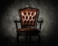Comfortable wooden chair Royalty Free Stock Photography