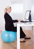 Comfortable working environment royalty free stock photo