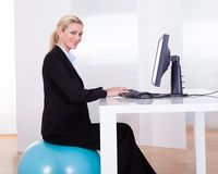 Comfortable working environment Stock Images