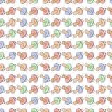 Comforter bezszwowy deseniowy tło Zdjęcia Stock