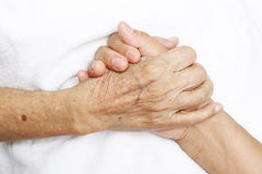 Comforting Hand Royalty Free Stock Images