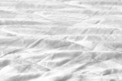 Comforting Sheets on a Bed Royalty Free Stock Photography