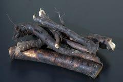 Comfrey; Błonie; leczniczy, korzenie Zdjęcie Stock