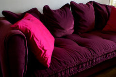 comfy καναπές στοκ εικόνες