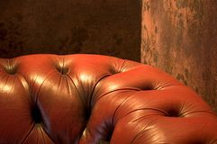 Comfy leather Royalty Free Stock Photo