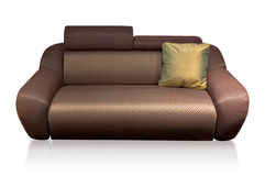 Comfy Sofa with pillow Royalty Free Stock Photos