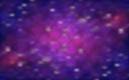 Cosmic background with the appearance of stars and galaxies Royalty Free Stock Images