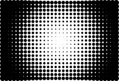 Comic background. Halftone dotted retro pattern Royalty Free Stock Photos