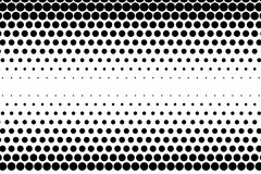 Comic background. Halftone dotted retro pattern with circles, dots, design element Stock Image