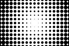Comic background. Monochrome halftone background. Black and white color. Royalty Free Stock Images