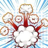 Comic balloon Royalty Free Stock Image