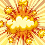 Comic balloon Stock Image