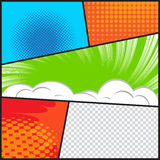 Comic book Stock Images