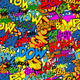 Comic book background Royalty Free Stock Photo