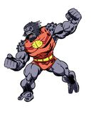 Comic Book Character Grock the Alien Brute Stock Photography