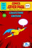 Comic Book Cover royalty free illustration