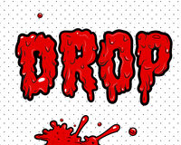 Comic book - Drop. Additional   format Illustrator 8 eps Stock Photography