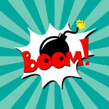 Comic book element Stock Images