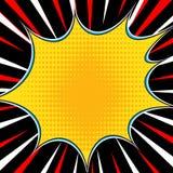 Comic book explosion superhero pop art style radial lines background. Manga or anime speed frame vector illustration