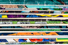 Comic Book Paper Background Stock Photo