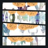Comic book sample Stock Images