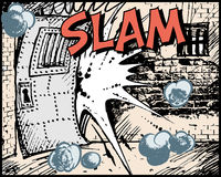 Comic book - Slam vector illustration