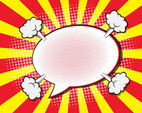 Comic Book Speech Bubble vector illustration