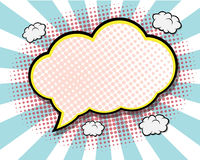 Comic Book Speech Bubble Royalty Free Stock Image