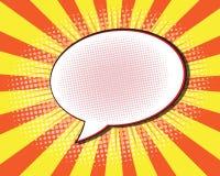 Comic Book Speech Bubble Stock Photos