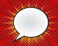 Comic Book Speech Bubble,Pop art Cartoon Stock Images