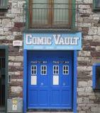 Comic Vault Stock Images