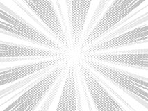 Comic book style background, halftone print texture royalty free illustration