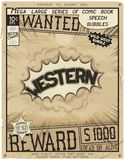 Comic book style poster Royalty Free Stock Photography