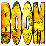 Comic Book Word - Boom Stock Images