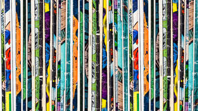 Comic Books Background Royalty Free Stock Photos