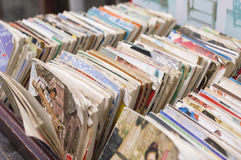 Comic books in xinchang Royalty Free Stock Photography