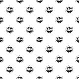 Comic boom bam pattern seamless vector. Repeat geometric for any web design royalty free illustration