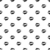 Comic boom cool pattern seamless vector. Repeat geometric for any web design royalty free illustration