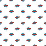 Comic boom kaboom pattern seamless. In flat style for any design Stock Image