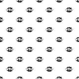 Comic boom wtf pattern seamless vector. Repeat geometric for any web design royalty free illustration