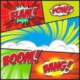 Comic-Buch Stockfotos