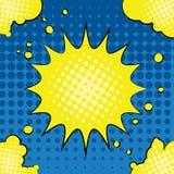 Comic-Buch-Explosion Stockbild