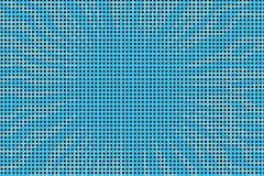 Comic-Buch-Halbtonhintergrund der blauen Pop-Art Retro- Lizenzfreie Stockfotografie