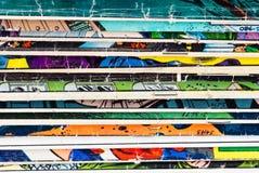 Comic-Buch-Papierhintergrund Stockfoto